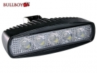 LED Työvalo 15W, 145mm, 800 lumen, BullBoy B15 Slim
