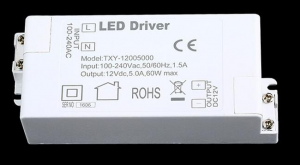 LED Muuntaja 60W, 12V